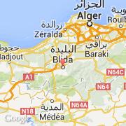 Carte Algerie Blida.Villes Co Blida Algerie Blida Visiter La Ville