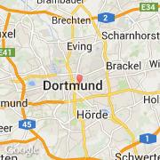 Carte Allemagne Dortmund.Villes Co Dortmund Allemagne Nordrhein Westfalen