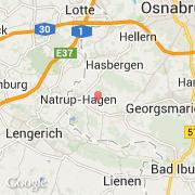 Carte Allemagne Hagen.Villes Co Hagen Allemagne Niedersachsen Luneburg