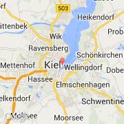 Carte Allemagne Kiel.Villes Co Kiel Allemagne Schleswig Holstein Visiter