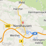 Nordhausen Karte.Stadte Co Nordhausen Deutschland Thüringen Besuchen Sie Die