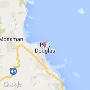 Port Douglas Karte.Stadte Co Port Douglas Australien Queensland