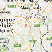 Carte Belgique Hamoir.Villes Co Hamoir Belgique Region Wallonne Liege