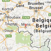 Carte Belgique Mons.Villes Co Mons Belgique Region Wallonne Hainaut Visiter La