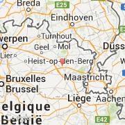 Carte Belgique Geel.Villes Co Zolder Belgique Region Flamande Limbourg