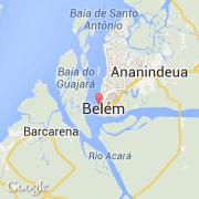 Carte Bresil Belem.Villes Co Belem Bresil Norte Para Visiter La Ville