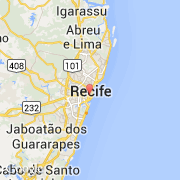 carte de recife - Image
