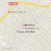 Benicarlo Espagne Carte.Villes Co Benicarlo Espagne Comunidad Valenciana