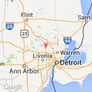 Ciudadesco Bloomfield Hills Estados Unidos Michigan - Mapa de michigan