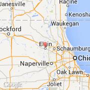 Ciudadesco Elgin Estados Unidos Illinois Visita De La - Mapa de illinois