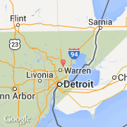 Ciudadesco Warren Estados Unidos Michigan Visita De La - Mapa de michigan
