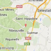 Carte Alsace Bergheim.Villes Co Bergheim France Alsace Haut Rhin Visiter