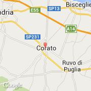 Carte Italie Corato.Villes Co Corato Italie Puglia Bari Visiter La Ville