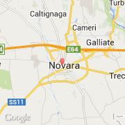 Carte Italie Novara.Villes Co Novara Italie Piemonte Novara Visiter La