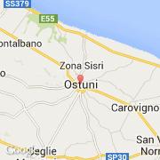 Carte Italie Ostuni.Villes Co Ostuni Italie Puglia Brindisi Visiter La