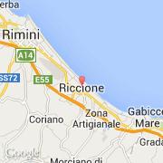 riccione italie emilia romagna rimini visiter la ville carte et m t o. Black Bedroom Furniture Sets. Home Design Ideas