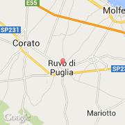 Carte Italie Corato.Villes Co Ruvo Di Puglia Italie Puglia Bari Visiter La