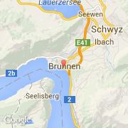 brunnen carte suisse - Image