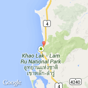 Carte Thailande Kaolack.Villes Co Khao Lak Thailande South Phangnga