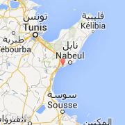 Carte Tunisie Hammamet.Villes Co Hammamet Tunisie Nabeul Hammamet Visiter