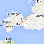 Bodrum Karte.Stadte Co Bodrum Turkei Ege Besuchen Sie Die Stadt Karte