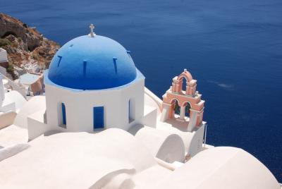 Stadte Co Kamari Griechenland South Aegean